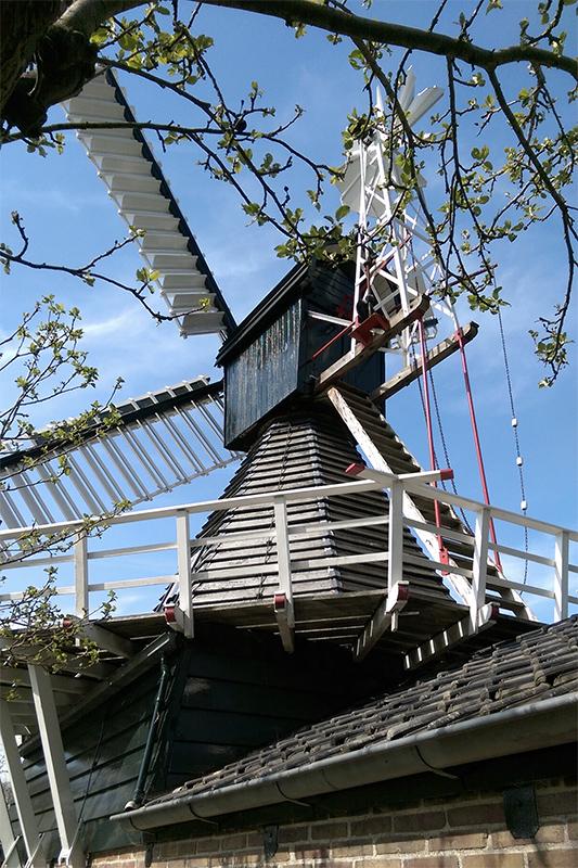 (spinnenkop), Wedderveer, Redmer Holwerda (17-4-2019) | Database Nederlandse molens