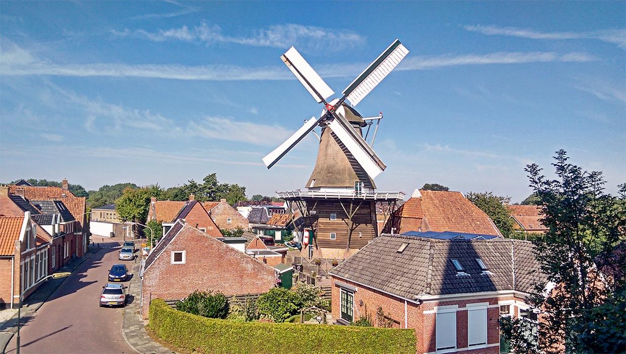 Aangeboden door: Stichting Microtoerisme InZicht Fotoblog Winsum molen Vriendschap