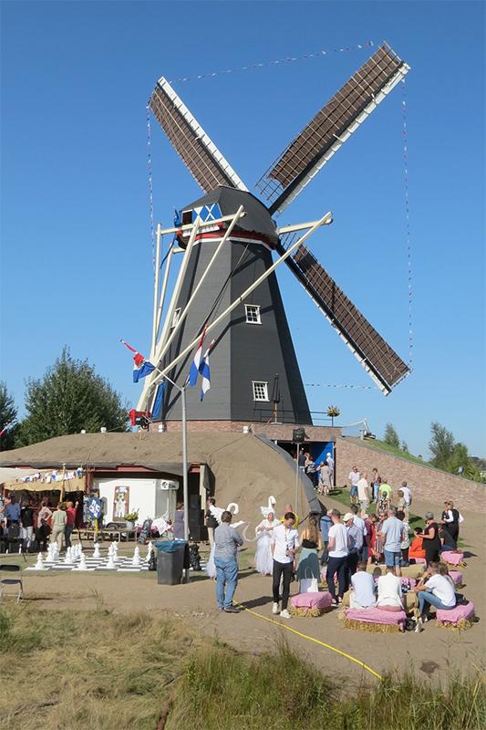 De Zwaan, Vinkel, Gerard Sturkenboom (20-09-2020)Opgezeild tijdens de opening op 20-9-2020 | Database Nederlandse molens