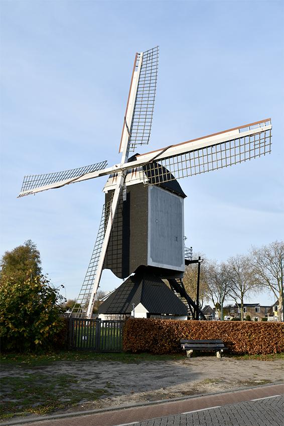 (standerdmolen), Bergeijk, Nancy Middelkoop (24-11-2020) | Database Nederlandse molens