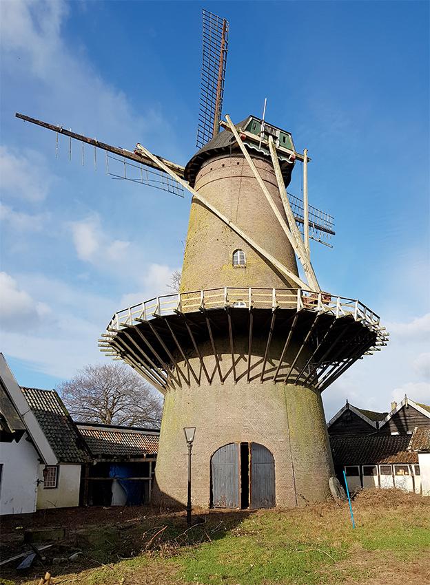 de eendragt, kaatsheuvel | nederlandse molendatabase