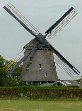 Slootgaardmolen, Waarland, Foto: Gerard Prudon (14-7-2003). | Database Nederlandse molens