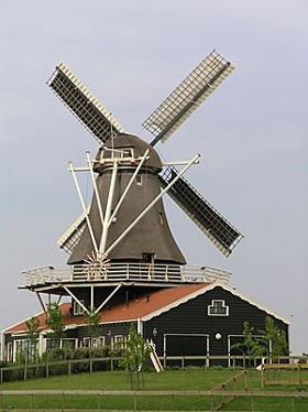 Leonide, Anna Paulowna, Foto: Willem Jans (13-5-2006). | Database Nederlandse molens