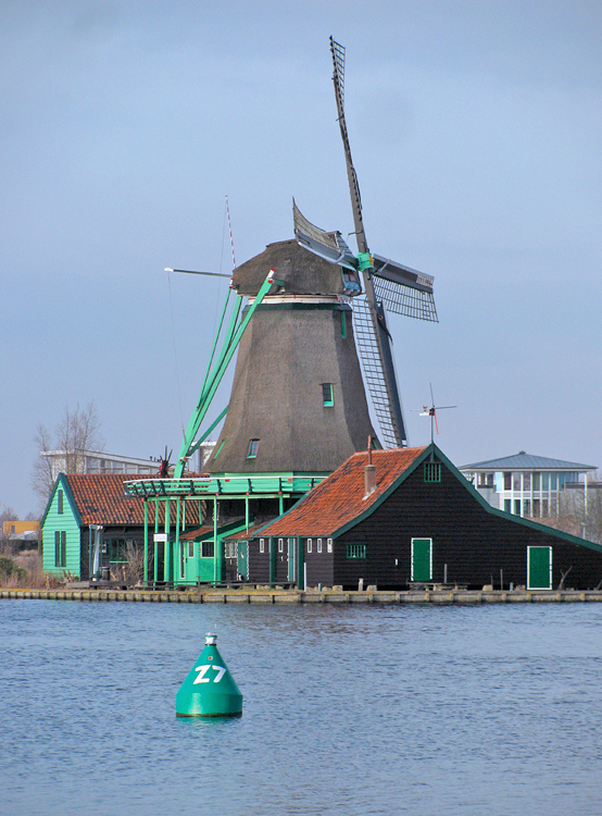 De Bonte Hen, Zaandam, Piet Glasbergen (13-2-2013). | Database Nederlandse molens
