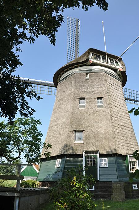 (poldermolen), Nederhorst den Berg, Donald Vandenbulcke (11-7-2011). | Database Nederlandse molens