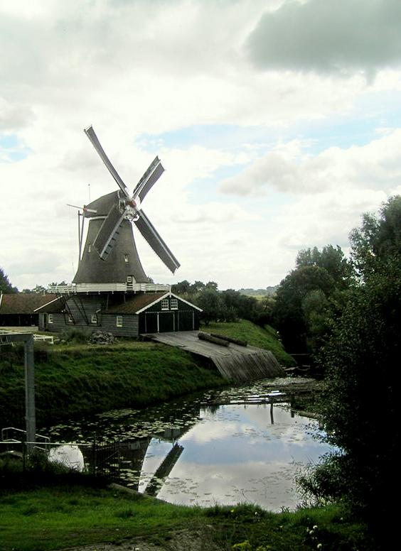 Bolwerksmolen, Deventer, Joe Cost Budde (30-7-2007) | Database Nederlandse molens