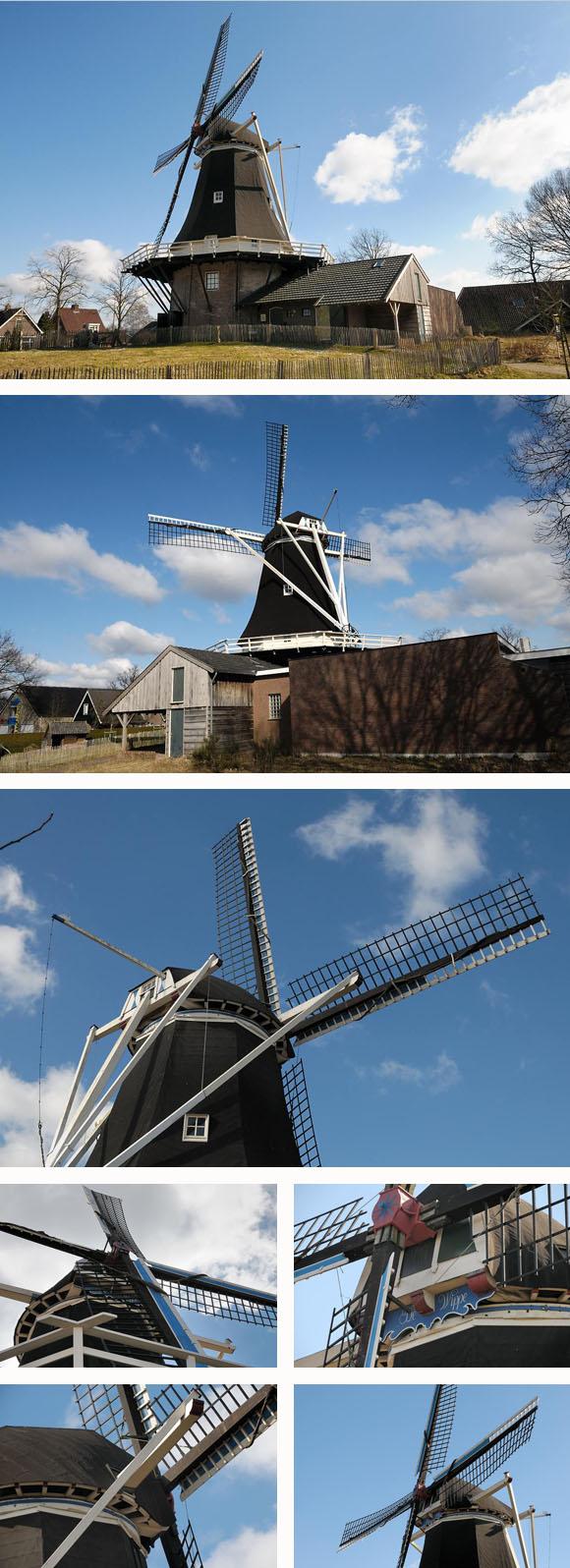 De Wippe / Molen van Fakkert, Hellendoorn, Eddy Blenke (6-3-2010). | Database Nederlandse molens