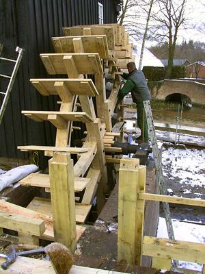 Den Haller, Diepenheim, A. Nibbelink (22-2-2005). | Database Nederlandse molens