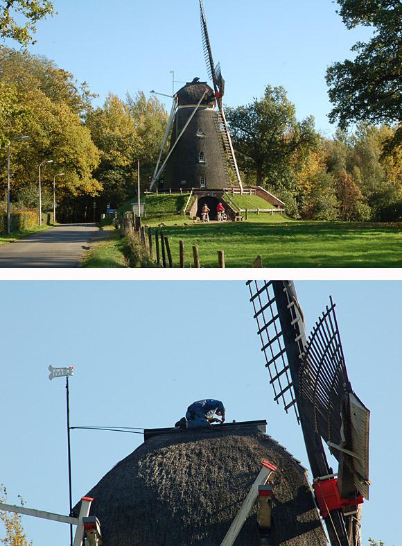 Lonnekermolen, Lonneker, Jan de Goede (20-10-2009). | Database Nederlandse molens