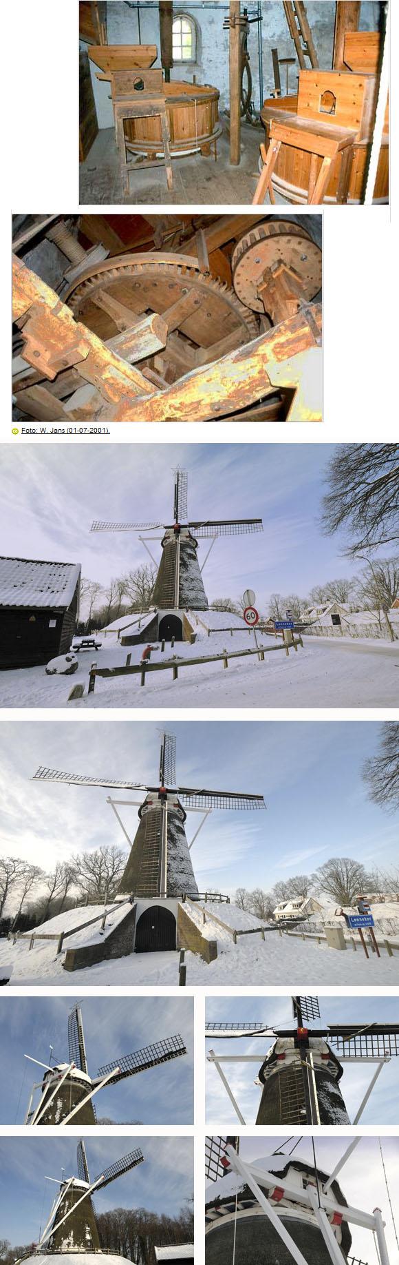 Lonnekermolen, Lonneker, Eddy Blenke (13-1-2010). | Database Nederlandse molens