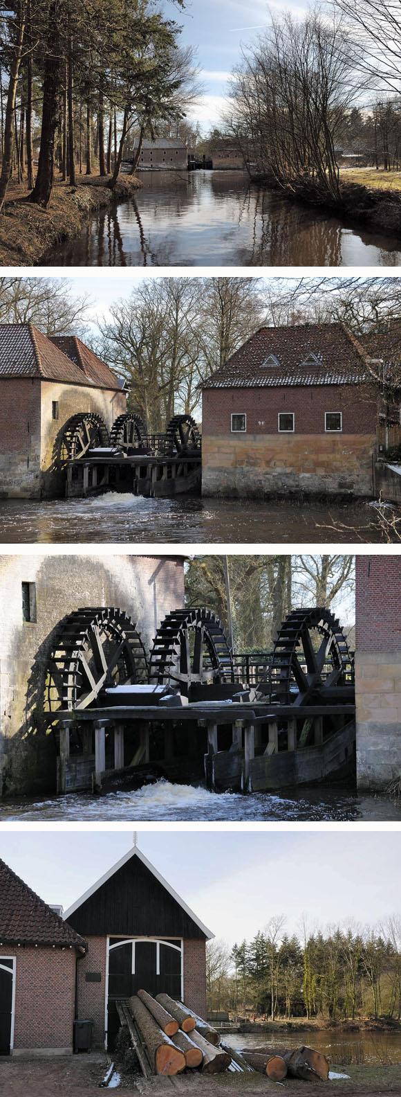 Watermolen van Singraven, Denekamp, Eddy Blenke (07-03-2010) | Database Nederlandse molens