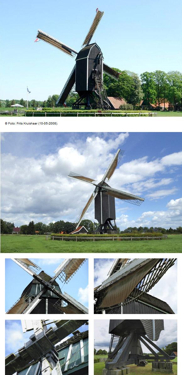 Wissink's Möl, Usselo, Eddy Blenke (9-8-2008) | Database Nederlandse molens