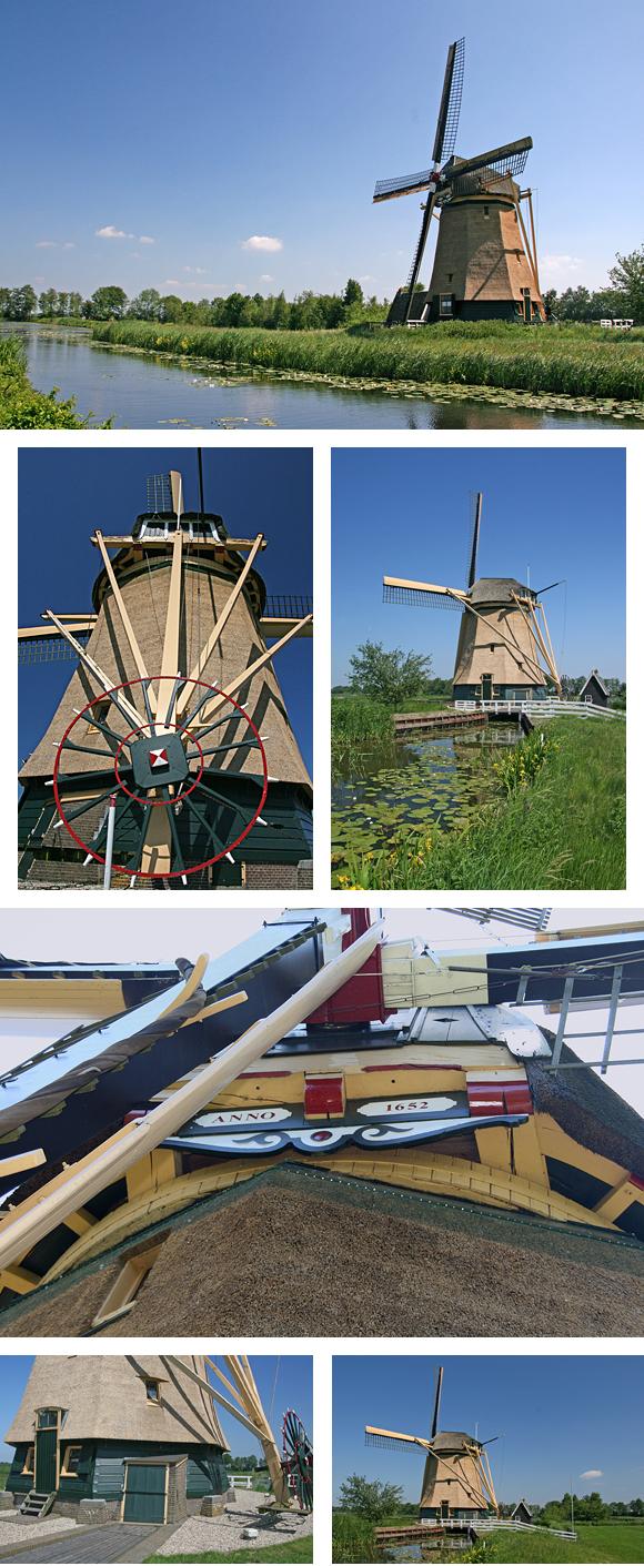 Loenderveense Molen, Loenen aan de Vecht, Ton Koorevaar (4-6-2010) | Database Nederlandse molens
