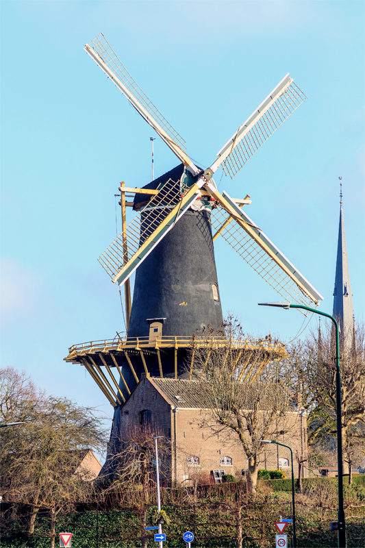De Windhond, Woerden, Frank Hendriks (13-1-2020) | Database Nederlandse molens