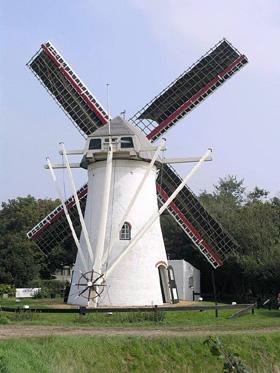 't Hert / Oostermolen, Ellemeet, Willem Jans (3-9-2005). | Database Nederlandse molens