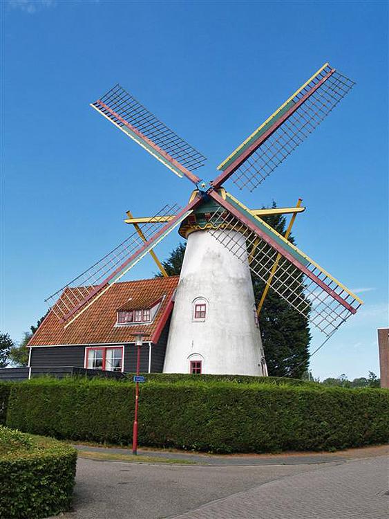't Welvaaren van Grijpskerke, Grijpskerke, Theo van Hest (13-8-2009). | Database Nederlandse molens