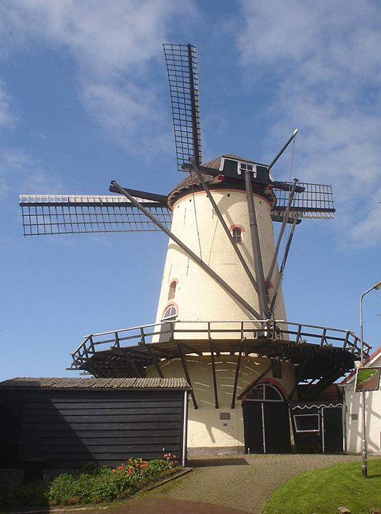 De Korenaar, Poortvliet, Marcel Stroo (12-5-2012). | Database Nederlandse molens