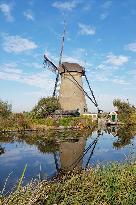 Nederwaard Molen No.6, Kinderdijk, Pieter Zuijkerbuijk (16-10-2018) | Database Nederlandse molens