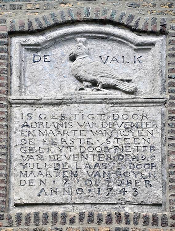 De Valk, Leiden, Rob Pols (31-7-2012) | Database Nederlandse molens
