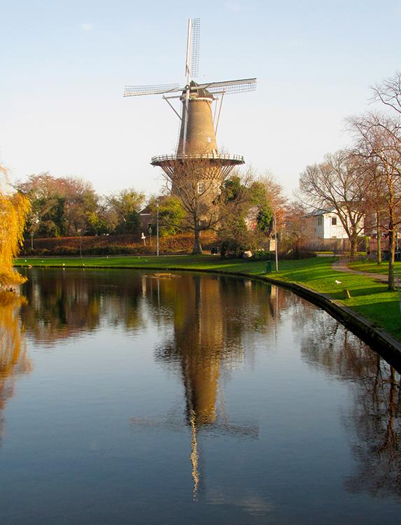 De Valk, Leiden, Piet Glasbergen (20-12-2016) | Database Nederlandse molens