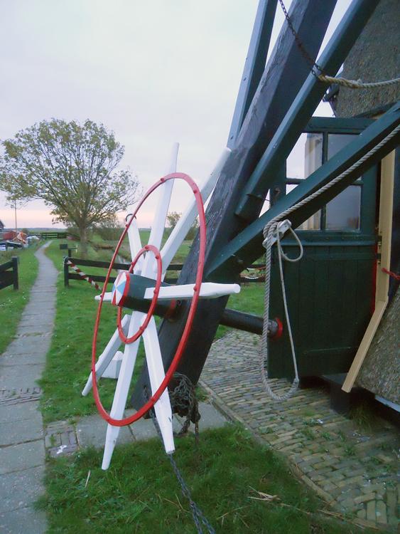 Doeshofmolen, Leiderdorp, Rob Simons (28-10-2012) | Database Nederlandse molens