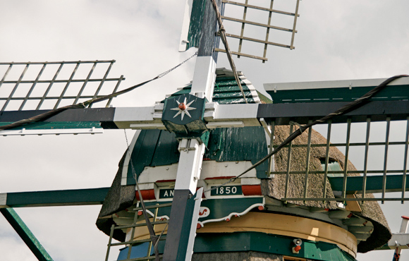 Zijllaanmolen, Leiderdorp, Ton Koorevaar (20-8-2009) | Database Nederlandse molens