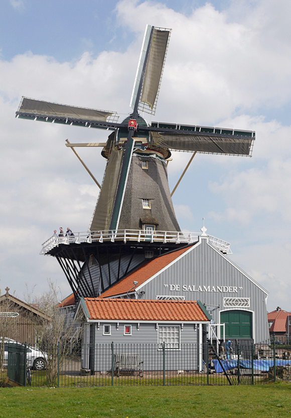 De Salamander, Leidschendam, Matthieu Hoogduin (5-4-2014) | Database Nederlandse molens