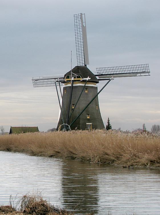 Bovenmolen (van de Driemanspolder), Leidschendam, Piet Glasbergen (24-3-2013)   Database Nederlandse molens