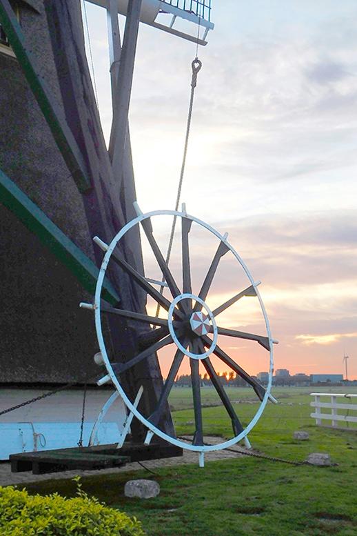 Ondermolen (van de Driemanspolder), Leidschendam, Piet Glasbergen (3-11-2018) | Database Nederlandse molens