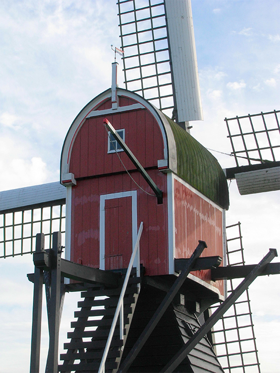 Lageveensemolen, Lisse, Piet Glasbergen (21-4-2016)   Database Nederlandse molens