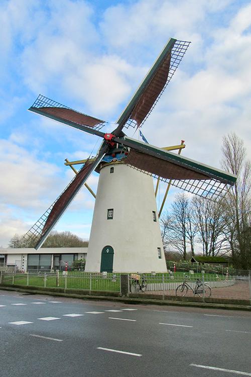 Zeezicht, Nieuwenhoorn, Frank Moerland (3-1-2017)   Database Nederlandse molens