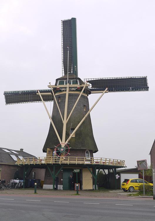 Windlust, Nootdorp, Matthieu Hoogduin (5-4-2014)   Database Nederlandse molens