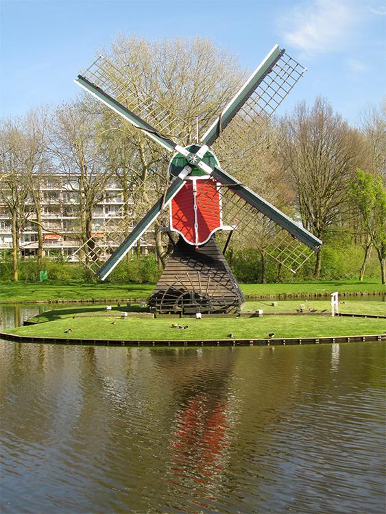Oudenhofmolen, Oegstgeest, Piet Glasbergen (21-4-2016) | Database Nederlandse molens
