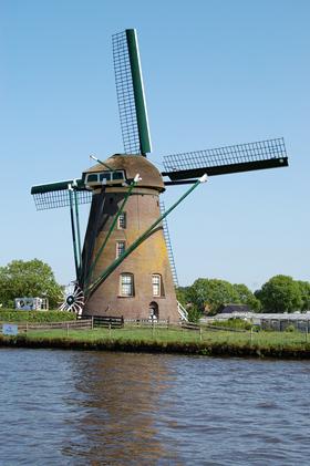 Googermolen, Roelofarendsveen, Foto: Rob Pols (24-5-2009). | Database Nederlandse molens