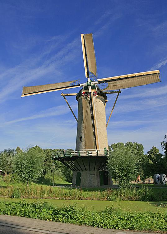 De Speelman, Rotterdam-Overschie, Ton Koorevaar (18-8-2012) | Database Nederlandse molens