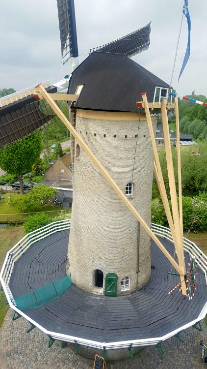 De Speelman, Rotterdam-Overschie, Ada van Noordwijk (13-5-2017) | Database Nederlandse molens