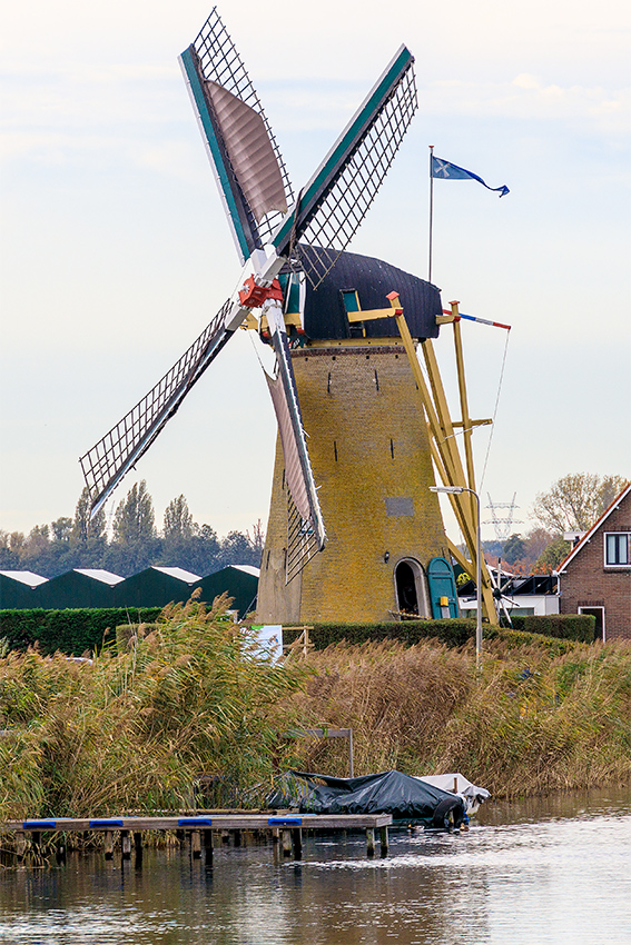 De Kersenboom, Rijsoord, Frank Hendriks (31-10-2020) | Database Nederlandse molens
