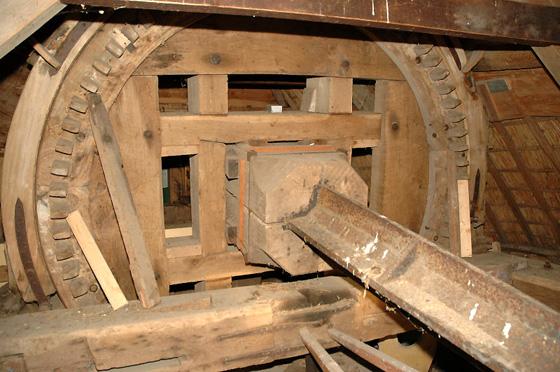 (stenen grondzeiler), Rockanje, Bert van Ingen (januari 2006)   Database Nederlandse molens