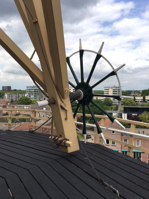 De Palmboom, Schiedam, Coen Heijkoop (15-7-2017) | Database Nederlandse molens