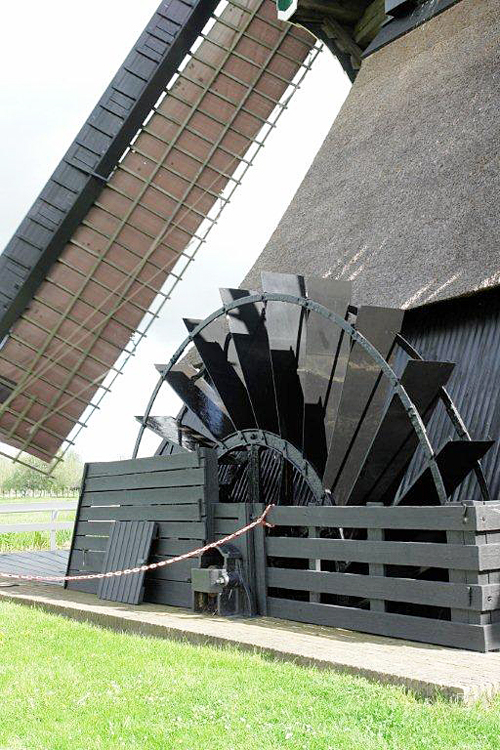Bonrepasmolen, Vlist, Frits Kruishaar (12-5-2012). | Database Nederlandse molens