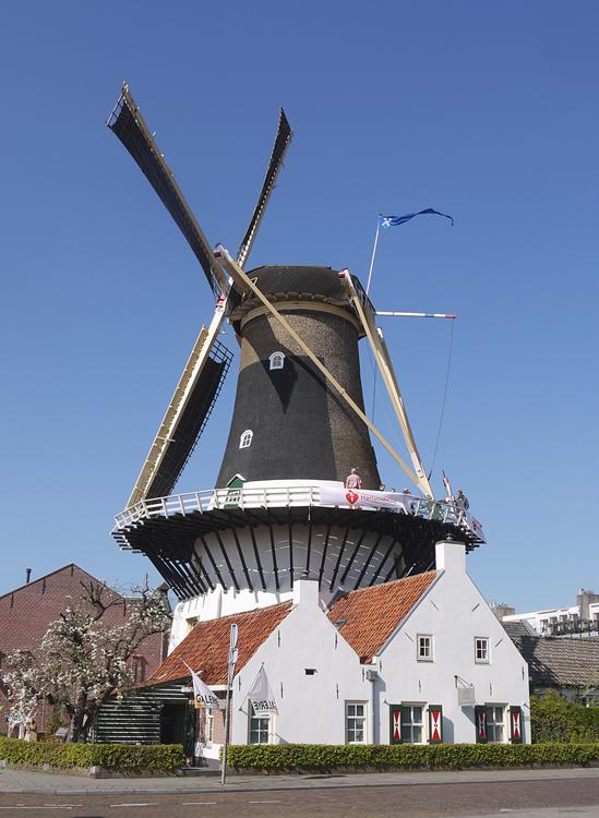 Windlust, Wassenaar, Matthieu Hoogduin (5-4-2014). | Database Nederlandse molens