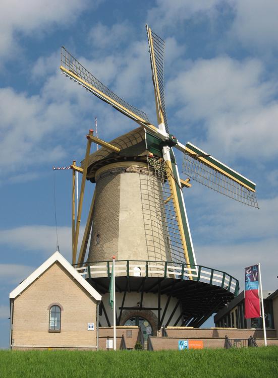 Windlust, Nieuwerkerk aan den IJssel, Piet Glasbergen (25-4-2013). | Database Nederlandse molens