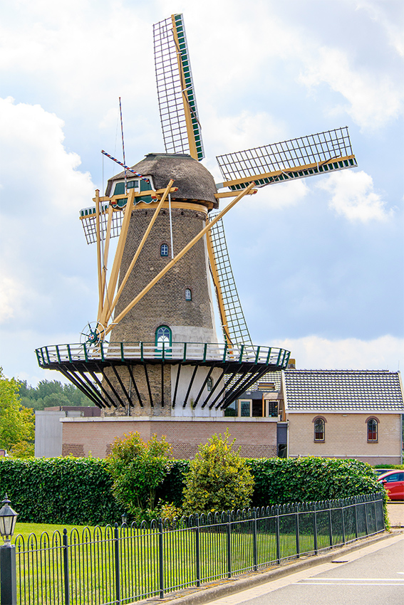 Windlust, Nieuwerkerk aan den IJssel, Frank Hendriks (1-8-2019) | Database Nederlandse molens