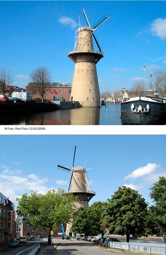 Noletmolen, Schiedam, Rob Pols (13-7-2009). | Database Nederlandse molens