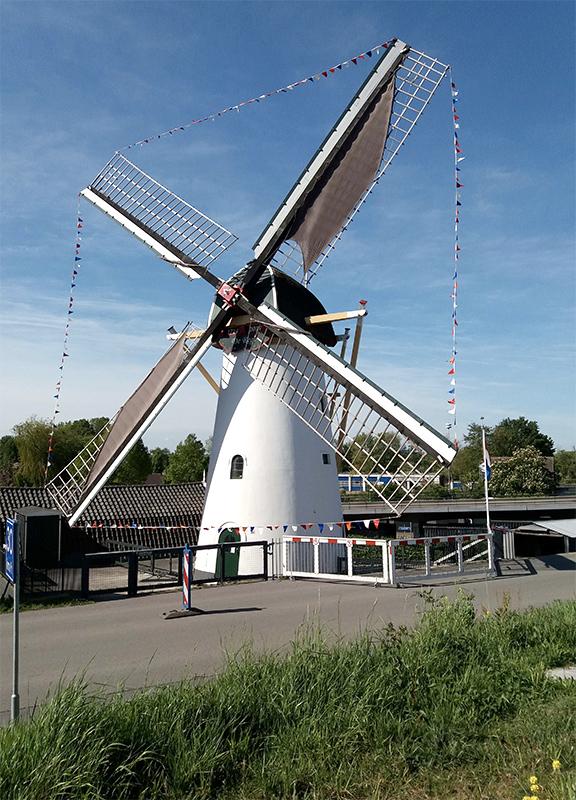 Korenmolen De Regt, Nieuw-Lekkerland, Nelly Sonneveld (5-6-2020) | Database Nederlandse molens