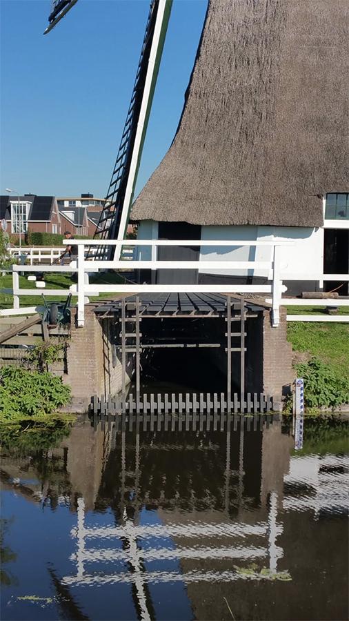 Rijnenburgermolen, Hazerswoude-Rijndijk, Pieter Zuijkerbuijk (27-9-2018) | Database Nederlandse molens