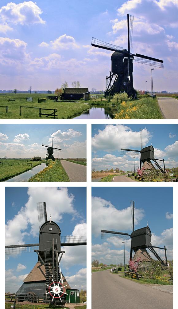 Scheiwijkse Molen, Hoornaar, Ton Koorevaar (27-4-2010).   Database Nederlandse molens