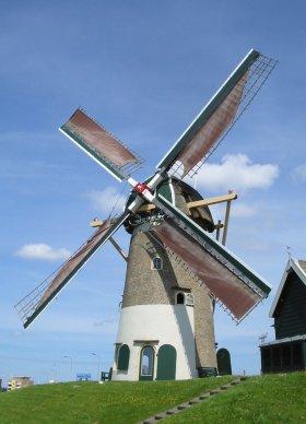 De Swaen (vh. Windlust), Nieuw-Beijerland, Foto: Rob Pols (9-6-2003). | Database Nederlandse molens